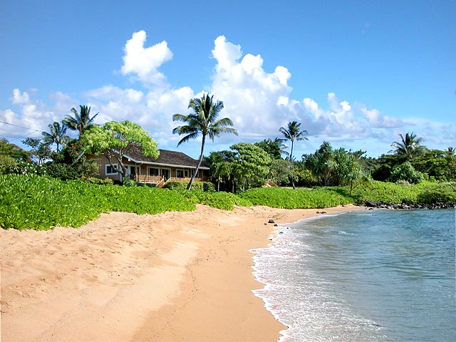 Baby Beach Bungalow Hawaii Kauai South Shore
