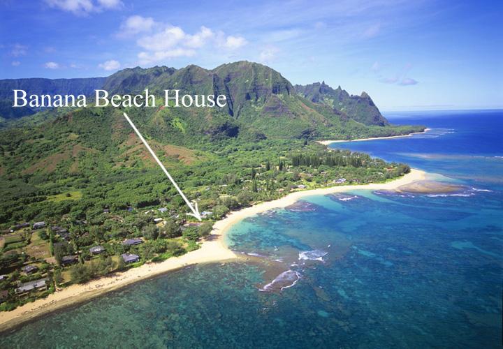 Banana Beach House Hawaii Kauai North S Resort San Pedro Belize